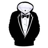 남성용 후드 스웨터 패션 디자인 의류 거리 3D 까마귀 힙합 슈트 프린트 풀오버 소년 편안한 아가씨 캐주얼 블랙 스웨트 셔프