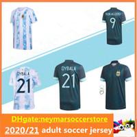 2020 2021 Argentina Copa America Soccer Jersey 20 21 Higuain Dybala Aguera Icardi Mascherano Camiseta de Futbol كرة القدم قميص