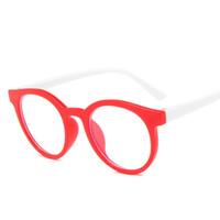 Sonnenbrillenrahmen Runde blaue Licht Kinder Gläser Optischer Rahmen 2021 Kinder Jungen Mädchen Computer transparent blockieren Anti reflektierende Brille