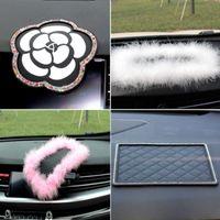 Автомобиль Skid Pad Интерьерные украшения в форме сердца противоскользящие силиконовые коврики PVC автомобилей мотоциклон автомобилей автомобилей аксессуары ключ