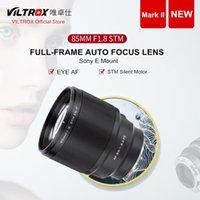 VILTROX 85 mm f / 1.8 Mark II STM Auto Focus lente de foco fixo F1.8 Lente para câmera SONY E-mount A9II a7IV a7RV a7SII A6500 A6600