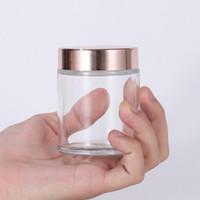 Vendita calda libera crema di vetro bottiglia 5g 10g 15g 20g 30g 50g 60g 100g cosmetica vuota Vetro Vasi contenitori Sulla promozione