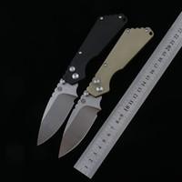 PROTECH STRIDER semi-automático faca tático dobragem D2 lâmina T6-6061 alumínio aviação liga de pega exterior de campismo sobrevivência ferramenta EDC