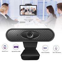 Full HD 1080P Webcam USB WEBCAM ordinateur avec microphone avec clip sur la base USB2.0 Web Cam pour ordinateur portable PC