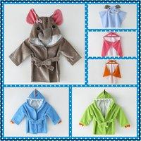 جديد ألياف الخيزران منشفة حمام الطفل مقنع حمام الكرتون لبس عباءة الدافئة في فصل الشتاء وبارد في الصيف
