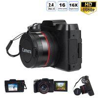 الكاميرات الرقمية Full HD1080P 16X Zoom Camera Professional HD كاميرا الفيديو VLogging عالية الوضوح