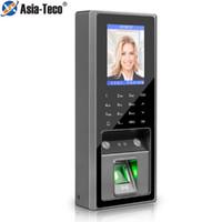 Contrôle d'accès d'empreintes digitales 300 Reconnaissance du visage 3000 Capacité avec une fréquentation de temps de 125kHz pour le système de verrouillage de porte