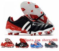 2020 أعلى جودة أحذية الرجال لكرة القدم PREDATOR MANIA FG كرة القدم المرابط المفترس هوس VI أحذية كرة القدم التاكو دي فوتبول المدربين الرياضية الجديدة
