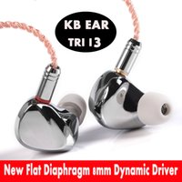 Kulaklıklar TRI I3 Düzensel Mıknatıs + Kompozit 8mm Dinamik Sürücü + Dengeli Armatür Sürücü Hibrid Kulaklık HIFI Metal MMCX Arphone + EVA Kılıfı