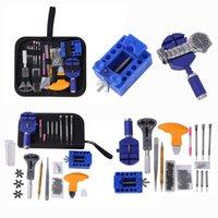 Outils de réparation Kits 144pcs Montre Ouvre-outils Kit de kit d'horloge d'horloge Link Remover Set Spring Bar usine