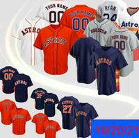 Men Astros Jersey 2 Alex Bregman 27 Jose Altuve 5 Jeff Bagwell 7 Craig 4 George Springer personalizzato maglie da baseball personalizzate