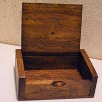 50pcs Toothpick Box Legno Portastuzzicadenti Mini Box Cucina Sala Bar Table regalo Handmade DecorationCraft