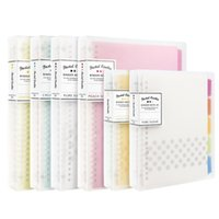 Kokuyo Notebook Bague NOTE NOTE DE MEMO DE MEMO PAD DONNÉE PLANQUAGE PERSONNEL PERSONNEL A4 A5 B5 Pastel-Cookie Style