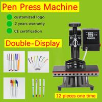 الطابعات 12in 1 التسامي القلم الحرارة الصحافة آلة نقل الطباعة diy logo 12 جهاز كمبيوتر شخصى مرة واحدة