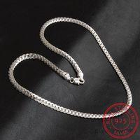 2020 New 5mm Mode-Kette 925 Sterlingsilber-Halsketten-Anhänger Männer Schmuck heiße Verkaufs-Vollseiten Halskette