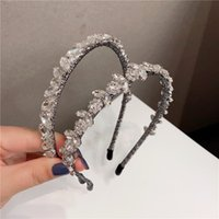 Baroque Style Women Rhinestone Headband INS Fashion Wedding ...