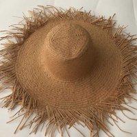 واسعة بريم القبعات zjbechahmu عارضة الصلبة خمر القش الشمس للنساء الصيف قبعات في الهواء الطلق عطلة الظل الشاطئ قابلة للطي قبعة فيدورا