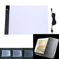 OUYIJIA 3 Nível Dimmable Led Light Pad Tablet Proteção Olho de Diamante Bordados Acessórios Ferramentas para Diamond Pintura A4 A5Size