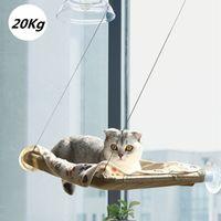 الحيوانات الأليفة سرير معلق القط الأرجوحة واضعة من 20kg انفصال لينة مريحة النافذة مشمس مقعد جبل لقطط كلاب البيت مستلزمات الحيوانات الأليفة