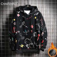 CHAIFENKO Hip Hop Sweats Homme 2020 New Mode Automne Skateboards Casual Sweat-shirt Homme japonais Harajuku Streetwear Homme Hoodie