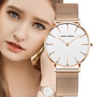 PAGANI DISEÑO reloj de las mujeres de Super plata fina malla de acero inoxidable relojes dama tapa ocasional señoras reloj de pulsera
