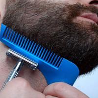 أنماط شعر الوجه تشكيل Tool- اللحية اللحية قالب المشكل مشط لأدوات اللحية قالب النمذجة KKA8089