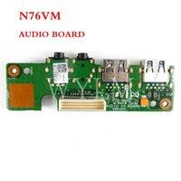 Connecteurs de câbles informatiques N76VM Board audio pour Asus N76V N76VZ N76VB N76VJ Cartable Carte mère USB 3.0 IO Interface