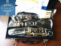 Yeni Büfe CramponCie A PARİS B12 17 Anahtar Bb Ayarlama bakalit Klarnet Aksesuarları ile Müzik Aletleri Klarnet Çalma