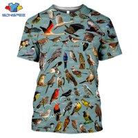Мужские футболки Sonspee летние повседневные мужчины Футболка насекомых птиц 3D печать футболки унисекс пуловерные топы новинка уличная одежда смешная короткая рука