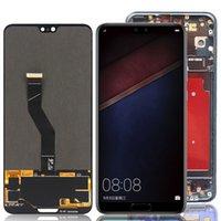 Handy Touch Panels 6,1 Zoll OLED für Huawei P20 Pro LCD CLTAL01 Anzeigebildschirm Digitizer Ersatzteile mit Rahmen