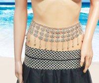 Cinture 2021 Sexy argento in lega di metallo Farfalla Dichiarazione Belly Cains Cains per le donne Summer Beach Dance Party Wide Way Chain Body Jewelry