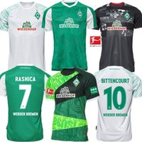 NOUVEAU SV Werder Bremen 120thAnniversary shirt junior Sportverein Werder Brême Football Maillots PIZARRO Osako HARNIK KRUSE RASHICA Football Shir