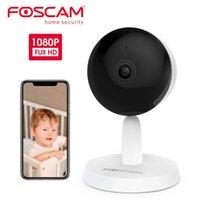 AI İnsan Algılama Tek Düğme Çağrı Bebek izleyicisi ile Foscam X1 1080P Kablosuz Akıllı Ev Güvenlik Pet Kamerası
