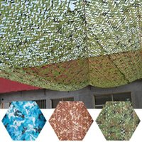 3-layered Sunscreen Camouflage Net Mesh Blind Washable Reusable Quick-drying For Outdoor Camping Sunshade Party Decoration