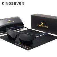 نظارات شمسية كينغفين ماركة أزياء الرجال الاستقطاب نظارات الشمس الرجال القيادة الإطار الأسود ظلال النظارات oculos