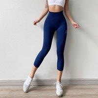 Roupas de ioga Calças de fitness Capris Sports Correndo Mulheres Meninas Bezerro Curtam Fits fiéis ao tamanho, tome o seu exercício normal de comprimento total