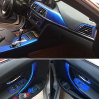 Pour BMW Série 3 F30 F31 F32 auto-adhésif Autocollants voiture 3D 5D fibre de carbone vinyle stickers voiture et décalcomanies Car Styling Accessoires
