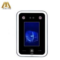 Sistema de Reconhecimento Facial Controle de Acesso Rosto Dinâmico DF02 Time Biométrico Atendimento Visto Dispositivo de Luz Visível Software Livre