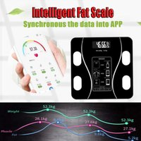 bluetooth Intelligent Electronic Body Weight Scales Wireless...