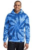 Frühling im Herbst mit Kapuze Übergrößen Sweatshirts Pullover Herren Bindung gefärbten Entwerferhoodies-Male