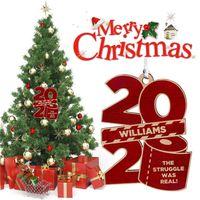2020 크리스마스 장식품 개인 화장지와 매는 밧줄 트리 장식 나무 늘어 뜨린 새해 홈 인테리어 파티 장난감 E92402