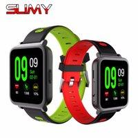 칙칙한 심박수 모니터 스마트 시계 스포츠 시계 MTK2502 Smartwatch 안드로이드 iOS 휴대폰 PK KW18 K88 K88H Stock