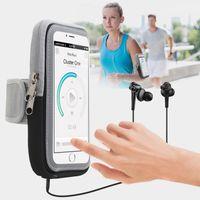 El 6.2 inç Telefon Kılıfı On Nefes Ter emici Bezi Spor Kol bandı için Iphone 7 Kılıf Cep Telefonu Kol Bantları Tutucu