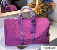 45CM grandes mulheres de capacidade sacos boas mochilas homens de qualidade sacos de ombro bagagem de mão keepall fundo rebites lanling35 viajar