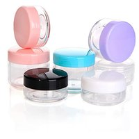 Plastic Container 20g Wax Oil Container Jars Empty Travel Mini Jar Case Small Cosmetic Pot With Lid Face Cream Lip Balm Jars YFA2549