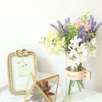 Ono Chrysanthemum Bouquet Simulation Bouquet Fake Flowers Wedding Decorations INS Home Simulation Decorative Flowers ef