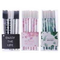 Гелевые ручки 6 шт. Зеленые растения Sakura Pen Kawaii школьные офисные предложения поставок