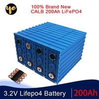 brand new 16PCS 3.2V CALB 200Ah LiFePO4 Battery SE200 Lithium iron phosphate12V 48V 24V400AH packs solar battery EU US tax free