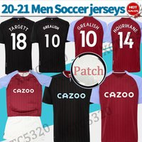 Men Kids Aston soccer jerseys home away #9 WESLEY 20 21 Vill...