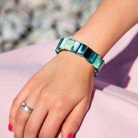 Bangle na moda braceletes redondos pulseira acrílica Pulseira Punk Punk Bangles para mulheres 2021 jóias pulseiras bijoux jóias